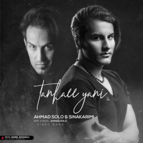 دانلود آهنگ جدید تنهایی یعنی از احمد سلو و سینا کریمی